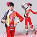 Новая Национальная Yangko Платье Традиционный Китайский Танцевальные Костюмы Восточные Танцевальные Костюмы Женщины Танцевальные Костюмы