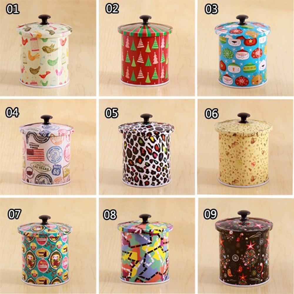 3 Unids / lote Nuevo KEYAMA Cajas de lata de té o dulces con tapa - Organización y almacenamiento en la casa - foto 2