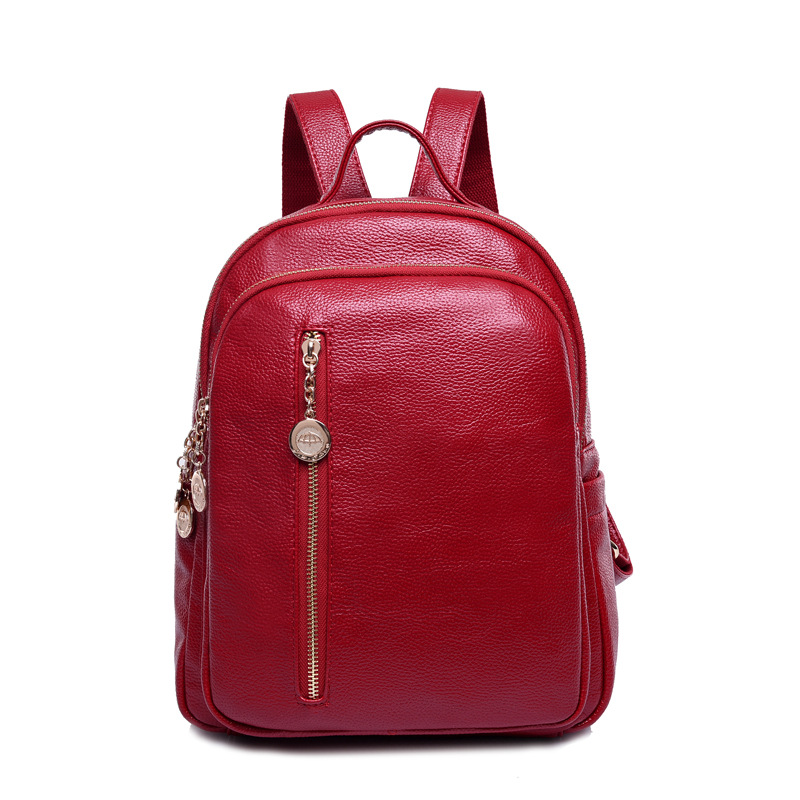 women's backpacks Genuine Leather students school bags teenagers girls small backpacks women travel bag mochila bolsas femininas стоимость
