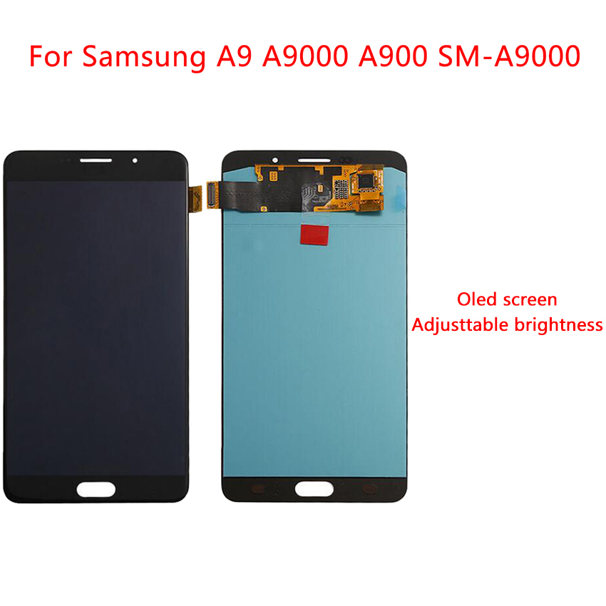 6.0 AMOLED Display For Samsung Galaxy A9 LCD Display Touch Screen A900F A9000 Digitizer Assembly Replacement Screen6.0 AMOLED Display For Samsung Galaxy A9 LCD Display Touch Screen A900F A9000 Digitizer Assembly Replacement Screen