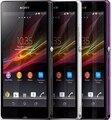 Original sony xperia z l36h c6602 c6603 teléfono móvil desbloqueado 3g 4G Wifi GPS Quad Core 2 GB RAM 16 GB ROM 13.1MP Android teléfono