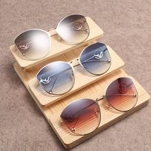 5f2d9da10 التعميم إطار كبير النظارات الشمسية المرأة جديد F المنزل النظارات الشمسية  الأزياء Baitajie النظارات الشمسية نظارات