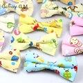 Novo 100% Algodão Chilrends Bowties Animal Print Meninos Meninas Laços Bebê Crianças gravatas Ajustável