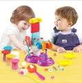 Novo jogo doh fimo 3D polymer clay DIY bonito pop criador plasticina Set DIY brinquedos educativos para crianças brinquedo