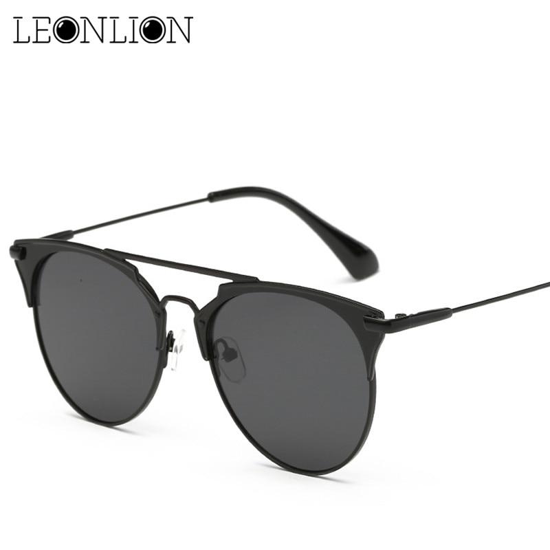 Солнечные очки LeonLion в винтажном стиле женские, аксессуар от солнца с металлическими линзами, для путешествий и активного отдыха, 2020