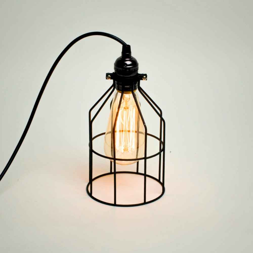 Free Shipping Industrial Pendant Lamp with Bulb Guard Classic Black ...