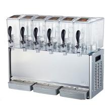 6 Tank 10L Cooling Juice Dispenser Cooler / Cold Juice Dispenser / Cold Beverage Dispenser