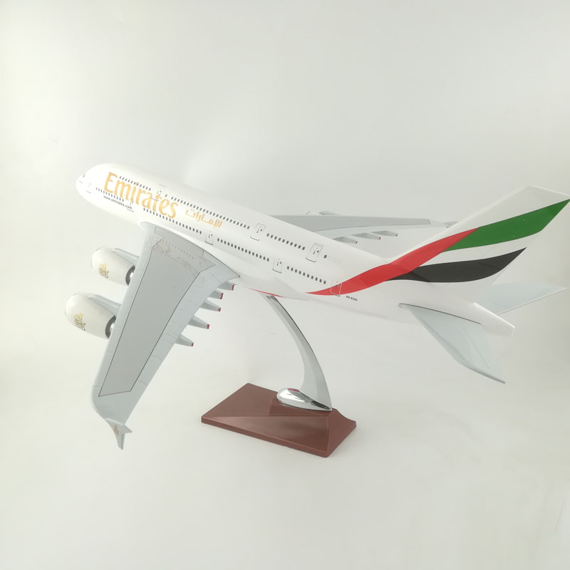 EMIRATES AIRLINERS 45-47CM A380 EMIRATES AIRLINES MODEL PLANE AIRCRAFT TOYS FOR CHILDREN BIRTHDAY GIFTS ORNAMENT ...