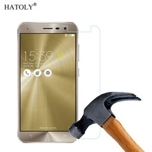 2PCS Screen Protector Glass For Asus Zenfone 3 ZE520kL Tempered Glass Asus Zenfone 3 ZE520kL Glass ZE520kL Tempered Film HATOLY цена