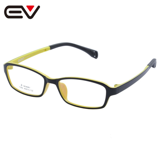 1b8da143bcd Fashion Kids Children Toddler Boys Girls TR90 Eyeglasses Frames Silicone  Nose Spring hinge Legs Optical Glasses Frames EV1364
