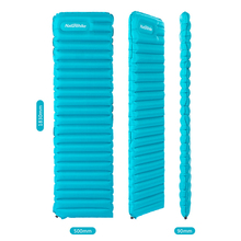 Inflatable Sleeping Pad Ultralight Hand Press Inflating Dampproof Air Pad Mattress Portable Outdoor Beach Mat