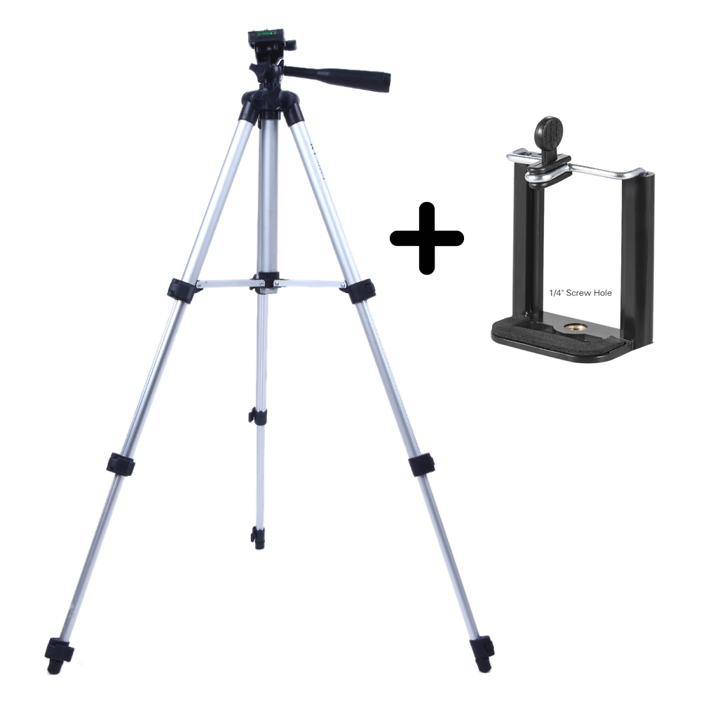 Bag WALLER PAA Professional Camera Tripod Stand Holder Mount for Cell Phone