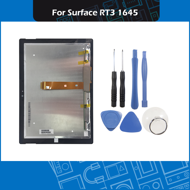 10.8 inch 1645 Touch Panel Screen Glass Sensor For Microsoft Surface RT3 1645 LCD Assembly Replacement with Tools