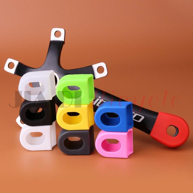 MUQZI 2pcs Crank Protector Case MTB Fixed Gear Road Folding Bicycle Crankset Smart Cover Sport Accessories Equip Crank Case