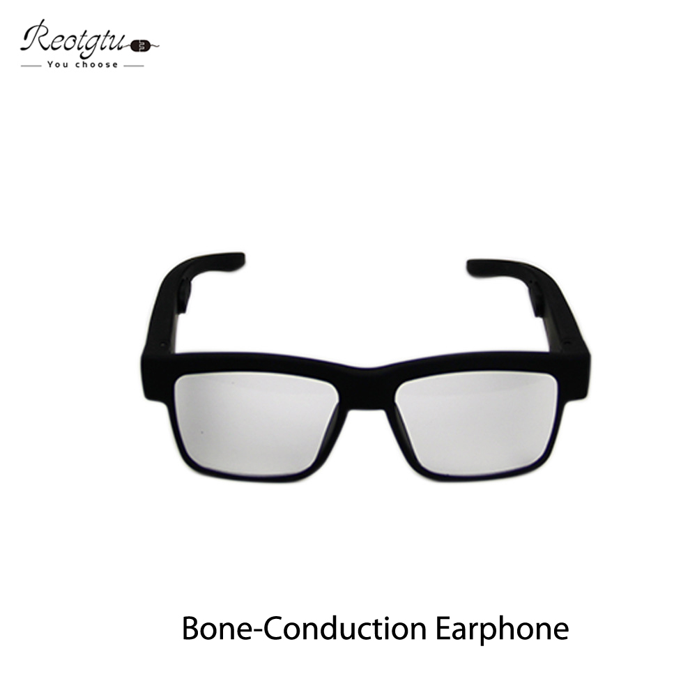 REOTGTU The Worlds First Bone-Conduction Earphone Speaker Bluetooth Smart Health Sunglasses Outdoor Sports Bluetooth Glasses