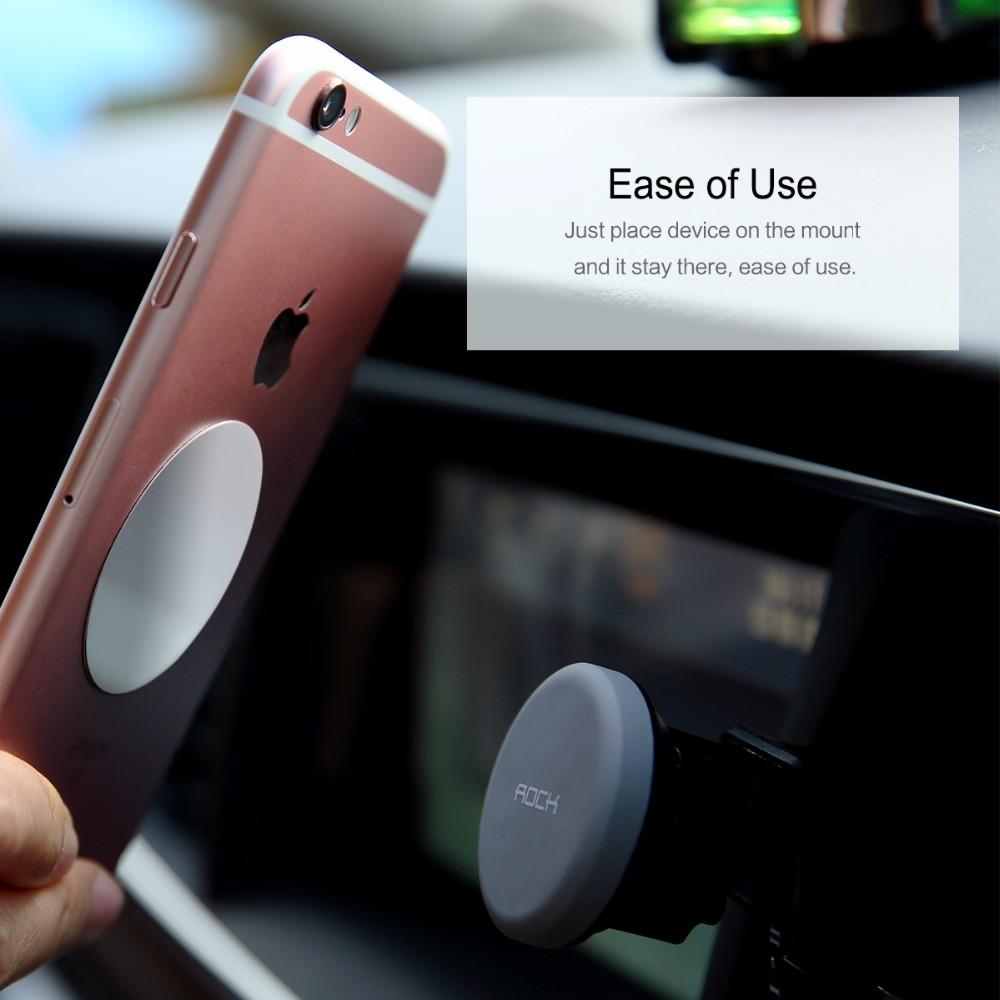 SKAŁA Obrotowy Uchwyt Magnetyczny Uchwyt Na Telefon Samochodowy Air Vent Outlet Magnes Uniwersalny Uchwyt Telefonu komórkowego Dla iphone Samsung stojak 7