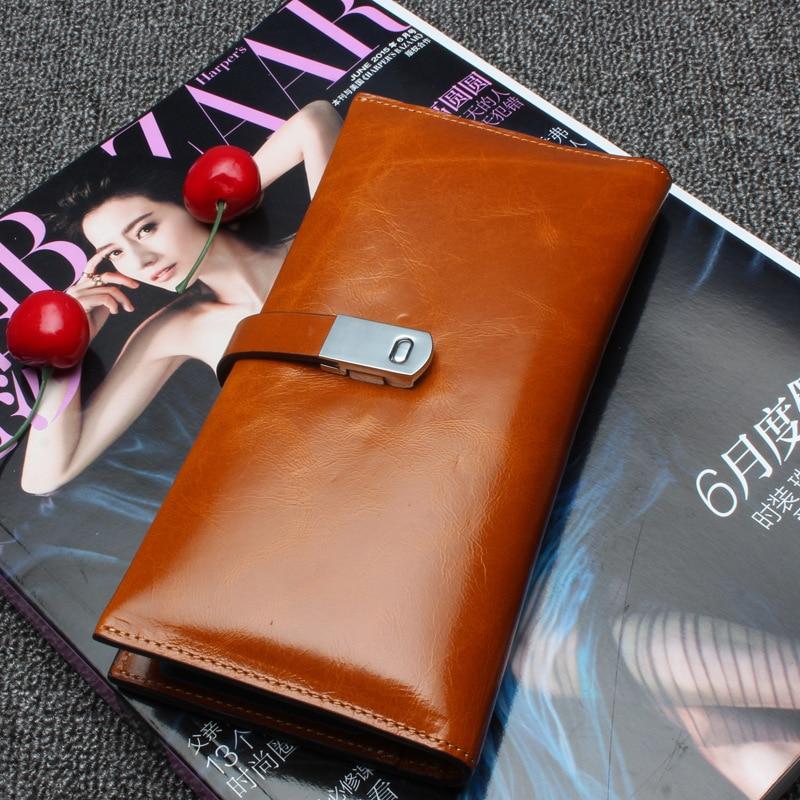DorisFanny Fashion calfskin Genuine Leather Long Wallet Women Zipper Purse Multifunction Purses Card Holder Calfskin wallet fsinnlv genuine leather wallet for women zipper
