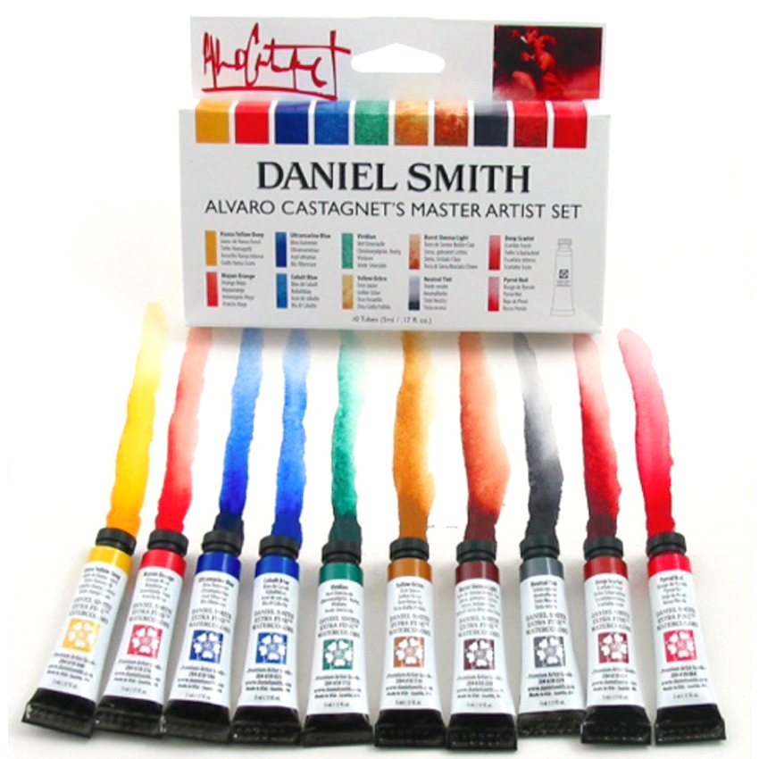 American  Daniel Smith Watercolor Mineral 6 Color Foundation 6 Colors Alvaro 10 Colors Watercoulour Set 5ml Mounting Aquarela