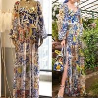 2019 women silk summer dress amazing maxi dress elegant dress to the floor robe femme women robe longue party long jumpsuit