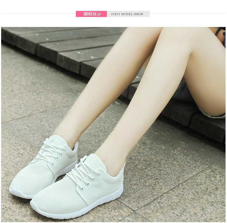 Women Breathable Mesh Shoes Size 35-40 Fashion Women Casual Shoes Zapatillas Deportivas Trainer Free Shipping Ladies Shoes YD85 (10)