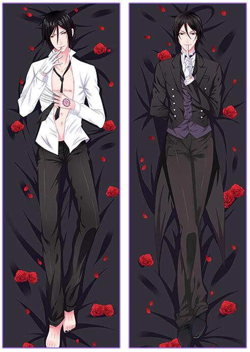 Free Shipping Anime Manga Kuroshitsuji Black Butler Ciel 150x50cm Pillow Case Cover YCDS337