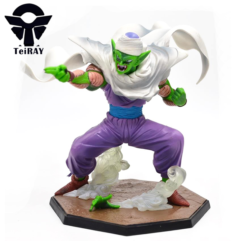 Anime Dragon Ball Z Piccolo Action Figures 13Cm Dragonball DBZ Super Saiyan Pvc Collection Figurines Toys Gift for Boys Children dragon ball z action figures super saiyan son goku grey color anime dbz collectible model toys 350mm dragon ball gt toy
