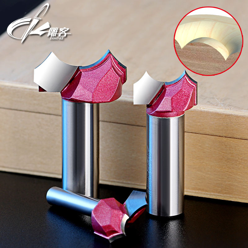 1PCS 1/2SHK woodworking carving tools milling cutter router bits for wood 1pc 1 2 7 8 woodworking cutter cnc engraving tools cutting the wood router bits 1 2 shk