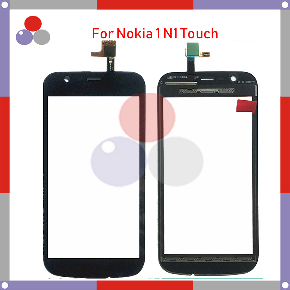 High Quality For Nokia 1 N1 Touch Screen Panel Sensor Digitizer Outer Glass Lens