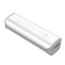Wysokiej jakości mini Powerbank 2600 mAh dla iPhone Samsung Xiaomi zewnętrzna bateria przenośna ładowarka do telefonu Powerbank z portem USB tanie tanio Awaryjne przenośne 0-3000 mAh 18650 Bateria Litowa Pojedyncze USB ZŁĄCZE micro USB 5 V 1A CE CCC Tollcuudda 93 3*30*22mm