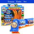 Thomas train track tomas electric train set Baby educational toy Small electric splicing rail train Christmas gift Boy toys