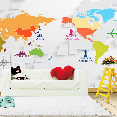 2015 1 sqm 3d nonwoven custom large mural ikea wallpaper world map 3d nonwoven custom large mural ikea wallpaper world map letter brick panel stone fresco decoration papel de parede in wallpapers from home improvement on gumiabroncs Choice Image