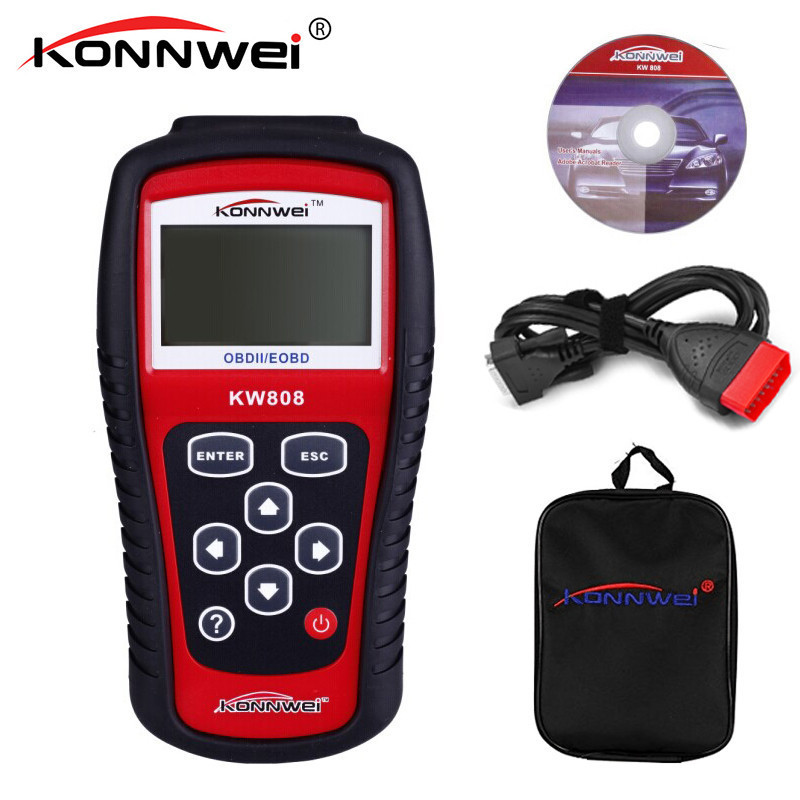 KONNWEI KW808 Scanner Diagnostic Code Reader OBD2 OBDII Car Diagnostic Tool