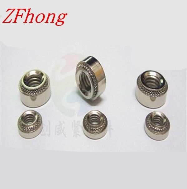 100 ШТ. m3 нержавеющей стали cls Self-Clinching Nuts/Давления клепка гайка/Пресс-гайка m3-0/m3-1/м3-2
