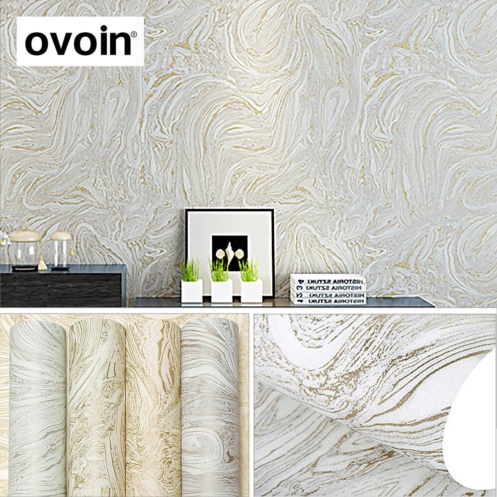 Grau/Weiß/Beige Moderne Metallic Marmor Tapetenbahn Abstrakte Tapeten  Schlafzimmer Und Wohnzimmer Tapeten