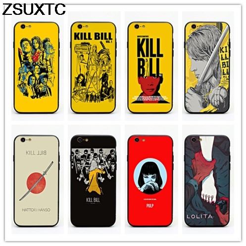 movie Kill Bill Vol 1 2 3 tpu+pc phone case for iphone 5 5s se 6 6s 6p 7 7p 8 8p X