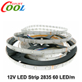 LED Strip 2835 / 3528 12V 60 LED/m Flexible LED Light RGB / White / Warm White / Blue / Green / Red / Yellow 5m/lot.