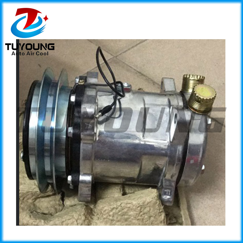 air conditioning compressor for Universal vehicle 1110 148  H14 12V|A/C Compressor & Clutch| |  - title=