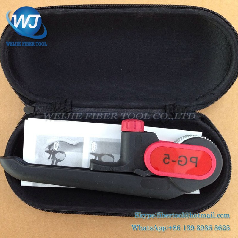Fiber optic cable protective layer stripping device PG-5 (4)