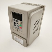 VFD new inverter CNC Spindle motor speed control 220V 1.5KW/2.2KW/4KW 220v 1P input 3P OUT frequency inverter for motor