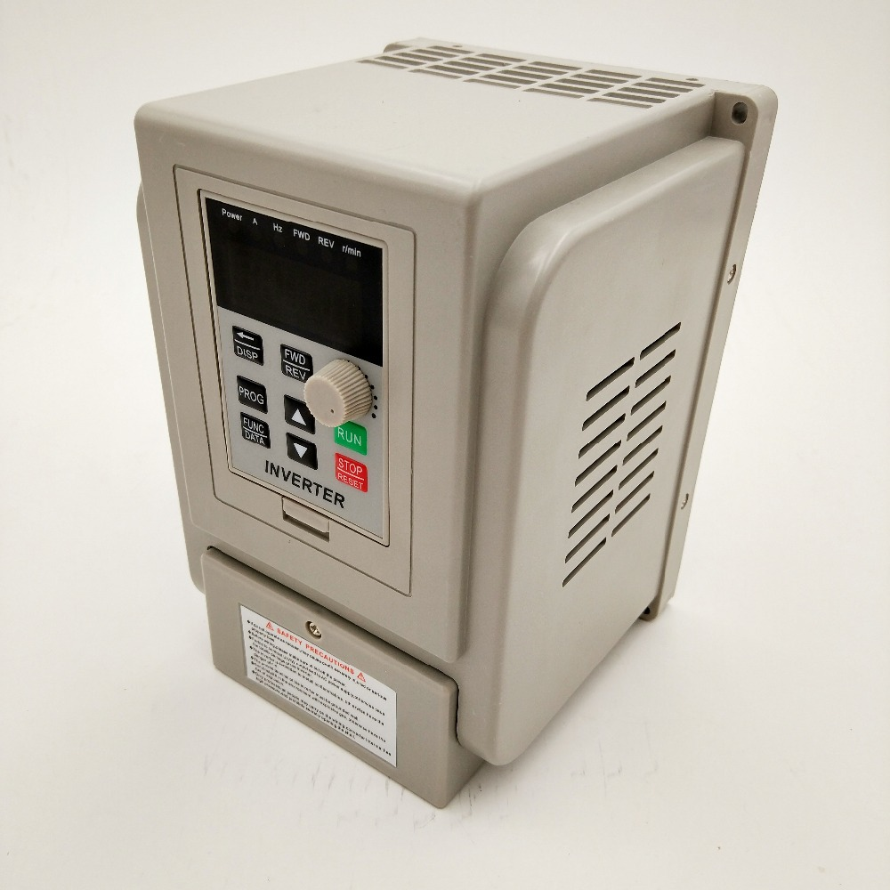 VFD 2.2KW new inverter CNC Spindle <font><b>motor</b></font> speed control 220V 1.5KW/2.2KW/<font><b>4KW</b></font> 220v 1P input 3P OUT frequency inverter for <font><b>motor</b></font> image