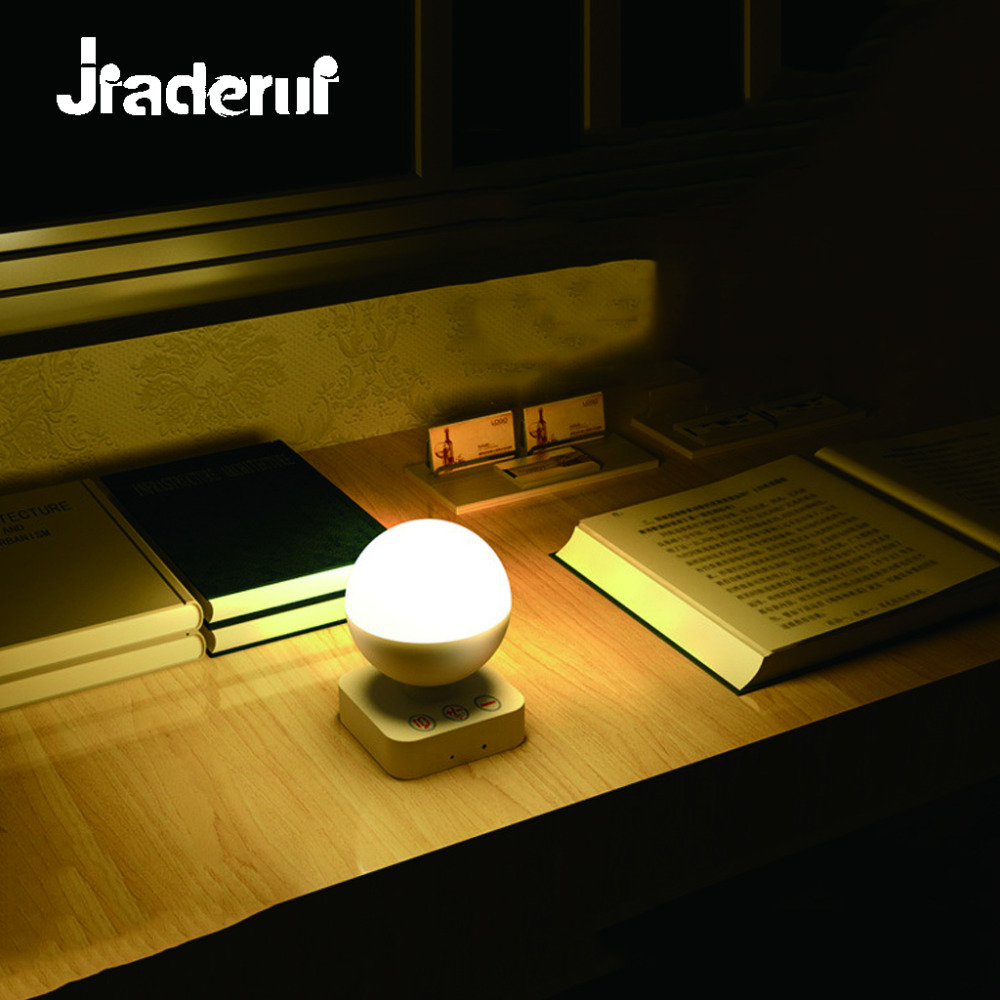 Jiaderui LED USB Night Light Intellengent Remote Control Lamp Bed Lamp Romantic Gift Baby Bedroom Warm Cold White Night Lights