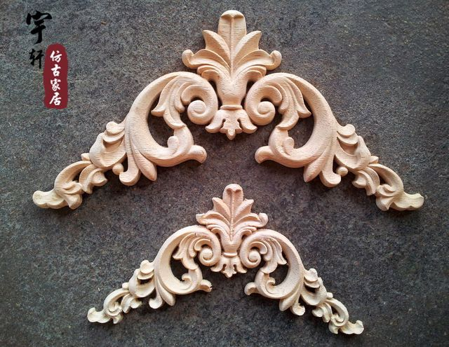 Dongyang wood carving fashion corners wood carved motif wood