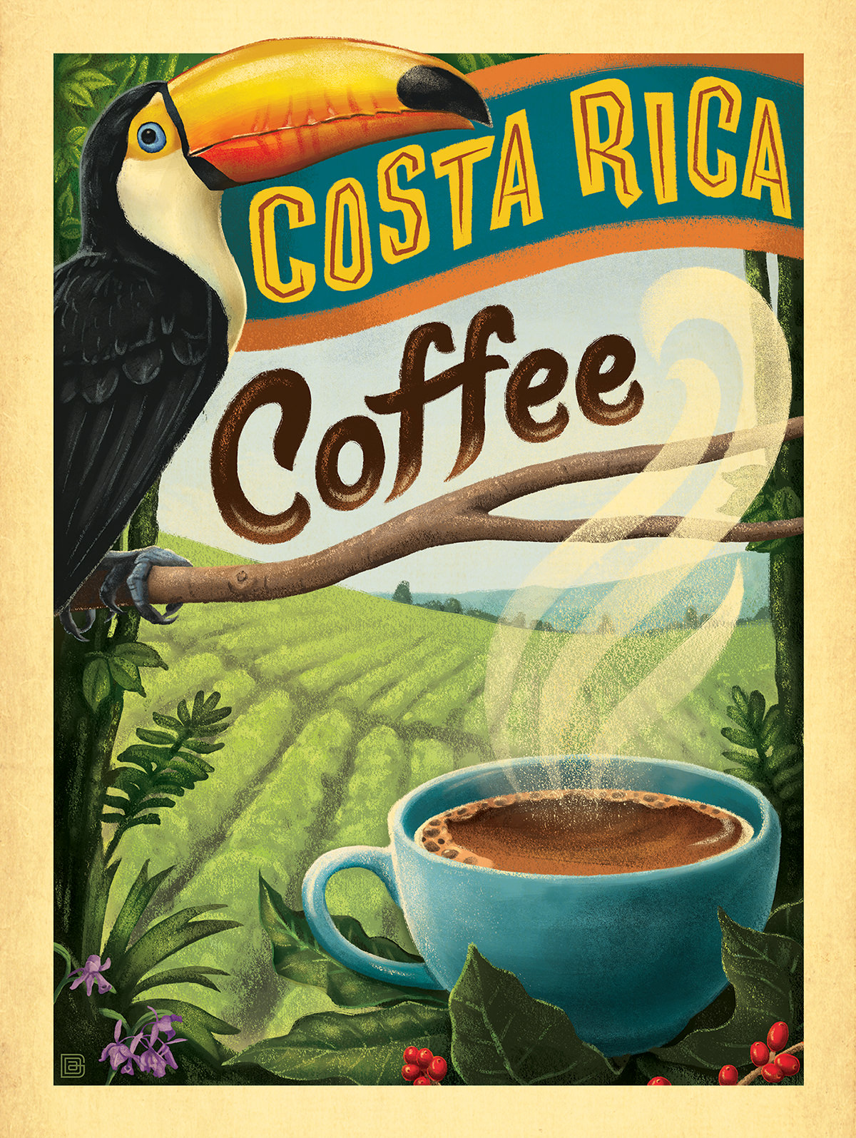 Coffee Posters Retro ~ Popular costa coffee buy cheap lots from