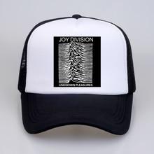summer Men Women Baseball Cap Joy Division Unknown Pleasure punk hat rock hipster streetwear Mesh Net Trucker Caps Hats