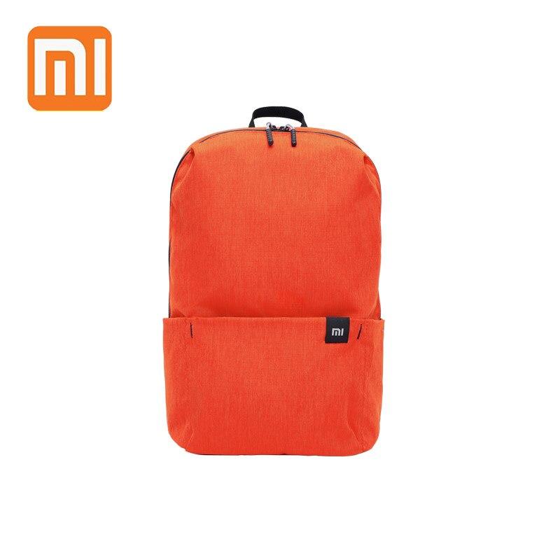 2018 XIAOMI colorido Mini mochila 10L 8 colores bolsas para Mujeres Hombres niño niña mochila resistente al agua ligero portátil Casual