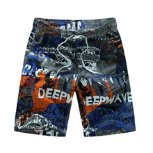 2019 Men Swimwear Beach Shorts Trunks Swimsuits Quick Dry Summer Surf Short Sports Camping Hiking Board Shorts Bermuda Plus 6XL(China)