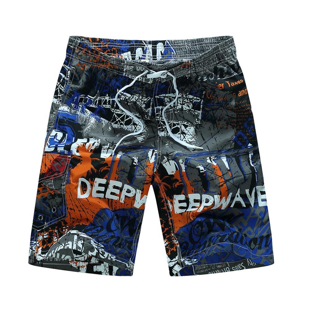 2019 Men Swimwear Beach Shorts Trunks Swimsuits Quick Dry Summer Surf Short Sports Camping Hiking Board Shorts Bermuda Plus 6XL