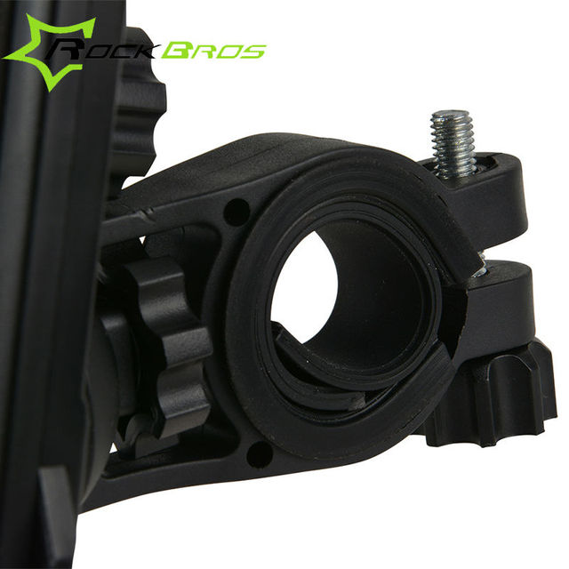 ROCKBROS Bike Phone Stand PVC Bicycle Handlebar Mount Holder Universal For iPhone Cellphone Cycling Accessories 2 Styles