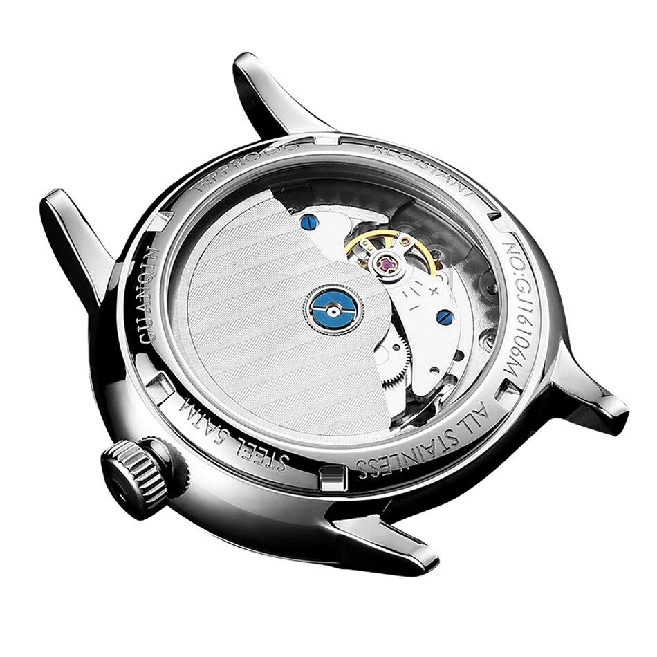 HTB1gpHbcv5TBuNjSspmq6yDRVXaI GUANQIN Mechanical Business Watch Men Top Brand Luxury Luminous 316L stainless steel Wrist Mens Automatic Watches Gold Clock