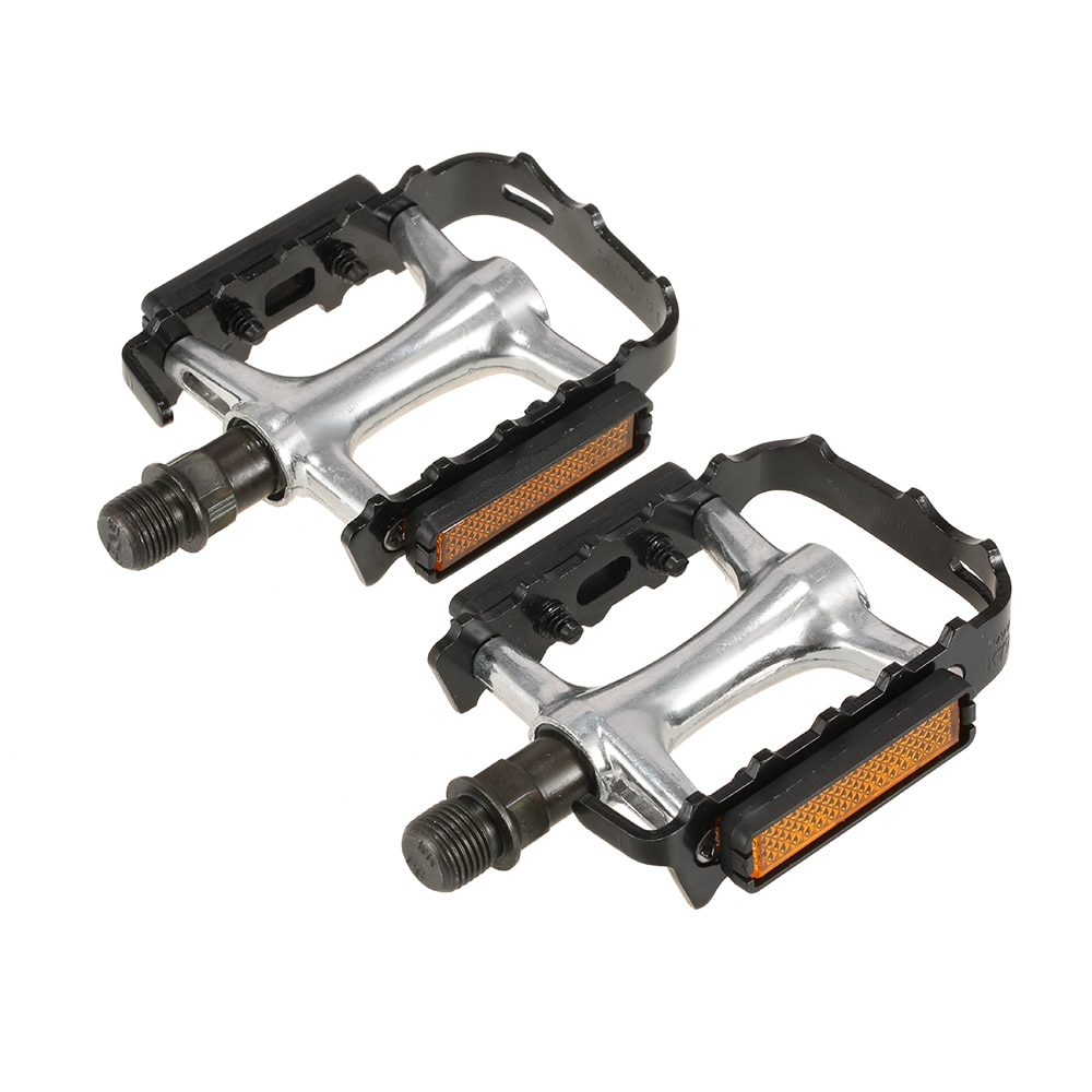 2x Wellgo Bike Pedals Flat Platform Bicycle Cycling Sealed Bearing Pedals 9//16